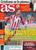 Portada diario AS del 16 de Diciembre de 2013