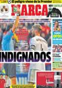 Portada diario Marca del 16 de Diciembre de 2013