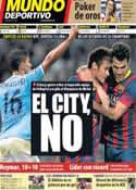 Portada Mundo Deportivo del 16 de Diciembre de 2013