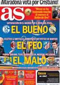Portada diario AS del 17 de Diciembre de 2013