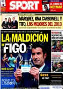 Portada diario Sport del 17 de Diciembre de 2013