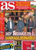 Portada diario AS del 18 de Diciembre de 2013