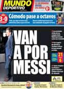 Portada Mundo Deportivo del 18 de Diciembre de 2013