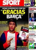 Portada diario Sport del 19 de Diciembre de 2013