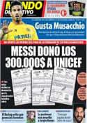 Portada Mundo Deportivo del 19 de Diciembre de 2013