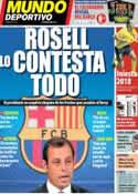 Portada Mundo Deportivo del 20 de Diciembre de 2013