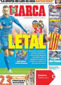 Portada diario Marca del 23 de Diciembre de 2013