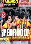 Portada Mundo Deportivo del 23 de Diciembre de 2013