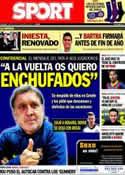 Portada diario Sport del 24 de Diciembre de 2013