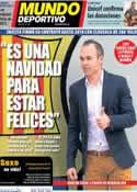 Portada Mundo Deportivo del 24 de Diciembre de 2013