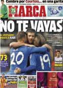 Portada diario Marca del 27 de Diciembre de 2013