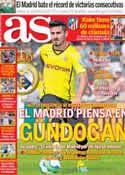 Portada diario AS del 28 de Diciembre de 2013