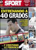 Portada diario Sport del 29 de Diciembre de 2013