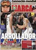 Portada diario Marca del 30 de Diciembre de 2013