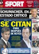 Portada diario Sport del 30 de Diciembre de 2013