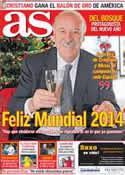 Portada diario AS del 31 de Diciembre de 2013