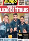 Portada Mundo Deportivo del 31 de Diciembre de 2013