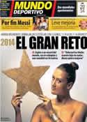 Portada Mundo Deportivo del 2 de Enero de 2014
