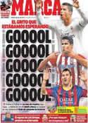 Portada diario Marca del 4 de Enero de 2014