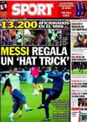 Portada diario Sport del 4 de Enero de 2014