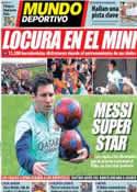 Portada Mundo Deportivo del 4 de Enero de 2014