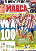 Portada diario Marca del 5 de Enero de 2014