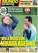 Portada Mundo Deportivo del 5 de Enero de 2014
