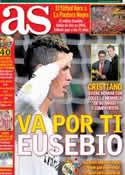 Portada diario AS del 6 de Enero de 2014