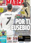 Portada diario Marca del 6 de Enero de 2014