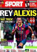 Portada diario Sport del 6 de Enero de 2014