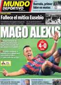 Portada Mundo Deportivo del 6 de Enero de 2014