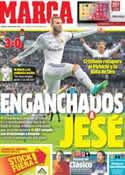 Portada diario Marca del 7 de Enero de 2014