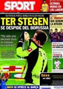 Portada diario Sport del 7 de Enero de 2014