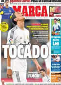 Portada diario Marca del 8 de Enero de 2014