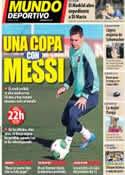Portada Mundo Deportivo del 8 de Enero de 2014