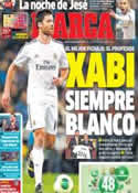 Portada diario Marca del 9 de Enero de 2014