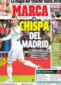 Portada diario Marca del 10 de Enero de 2014