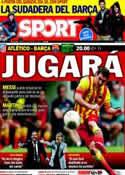 Portada diario Sport del 11 de Enero de 2014