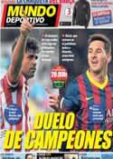 Portada Mundo Deportivo del 11 de Enero de 2014