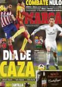 Portada diario Marca del 12 de Enero de 2014