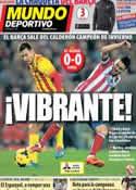Portada Mundo Deportivo del 12 de Enero de 2014