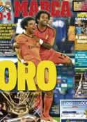 Portada diario Marca del 13 de Enero de 2014
