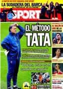 Portada diario Sport del 13 de Enero de 2014