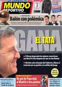 Portada Mundo Deportivo del 13 de Enero de 2014