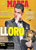 Portada diario Marca del 14 de Enero de 2014