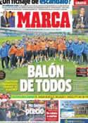 Portada diario Marca del 15 de Enero de 2014