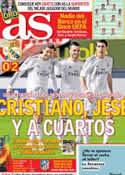 Portada diario AS del 16 de Enero de 2014