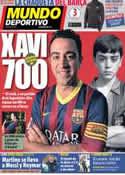 Portada Mundo Deportivo del 16 de Enero de 2014