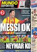Portada Mundo Deportivo del 17 de Enero de 2014