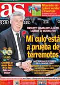 Portada diario AS del 18 de Enero de 2014